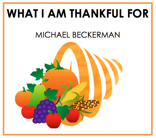 thanksgiving, giving thanks, second time around, michael beckerman, the news funnel, funnelcast