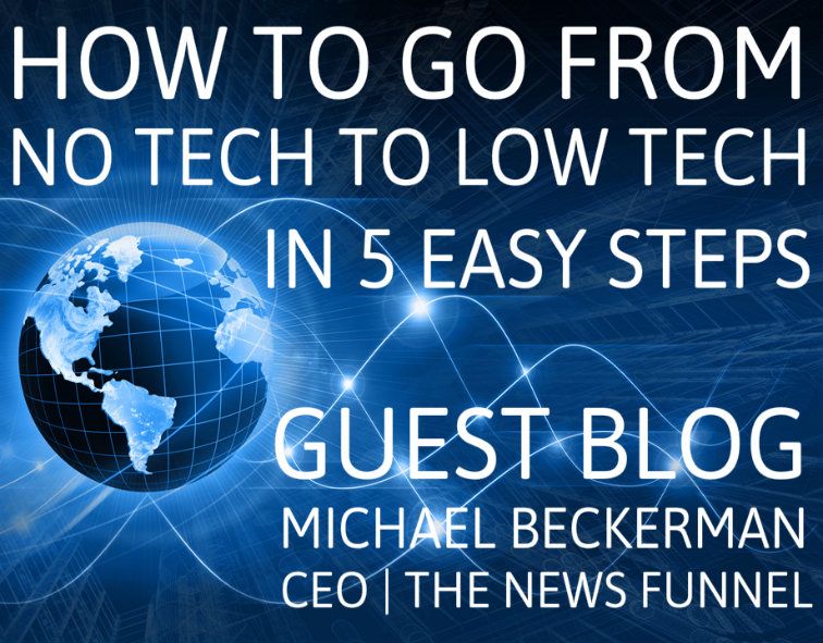 real estate tech, cre tech, michael beckerman, the news funnel, funnelcast