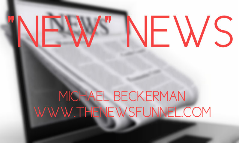 the news funnel, new media, michael beckerman