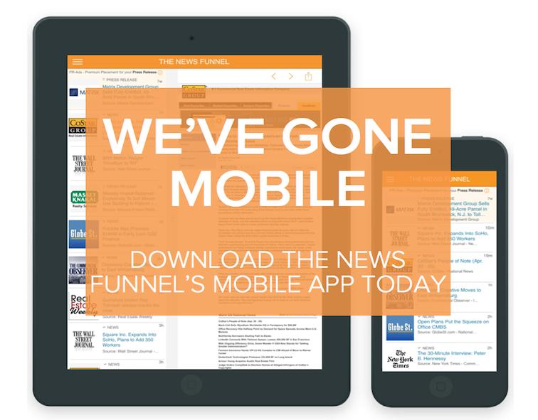 real estate news, news app, cre news app, real estate app, commercial real estate news