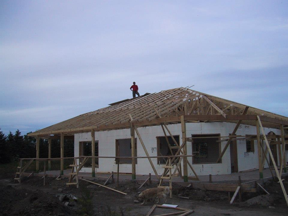 We built our new home. Yay! Yay! Yay!