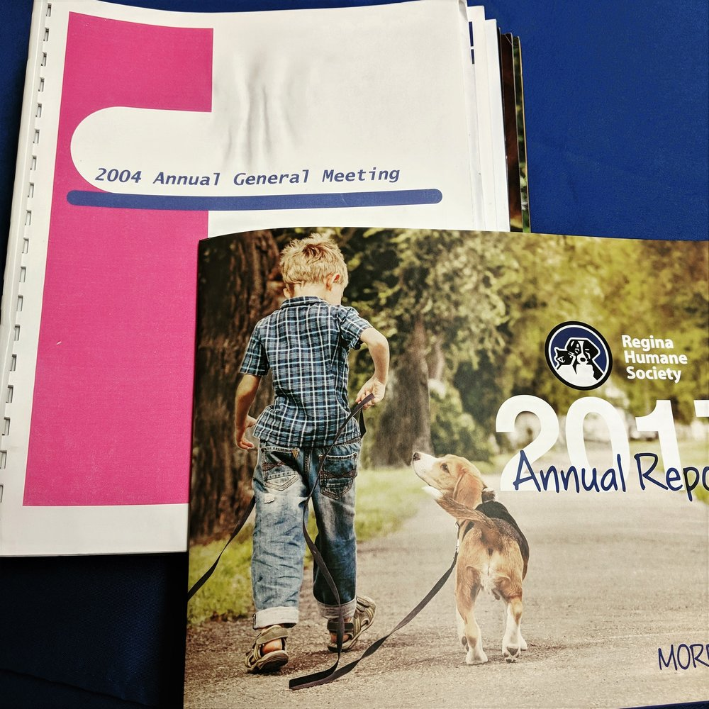 Regina Humane Society, sit as a member of the Board of Directors 2004-2018, President since 2007