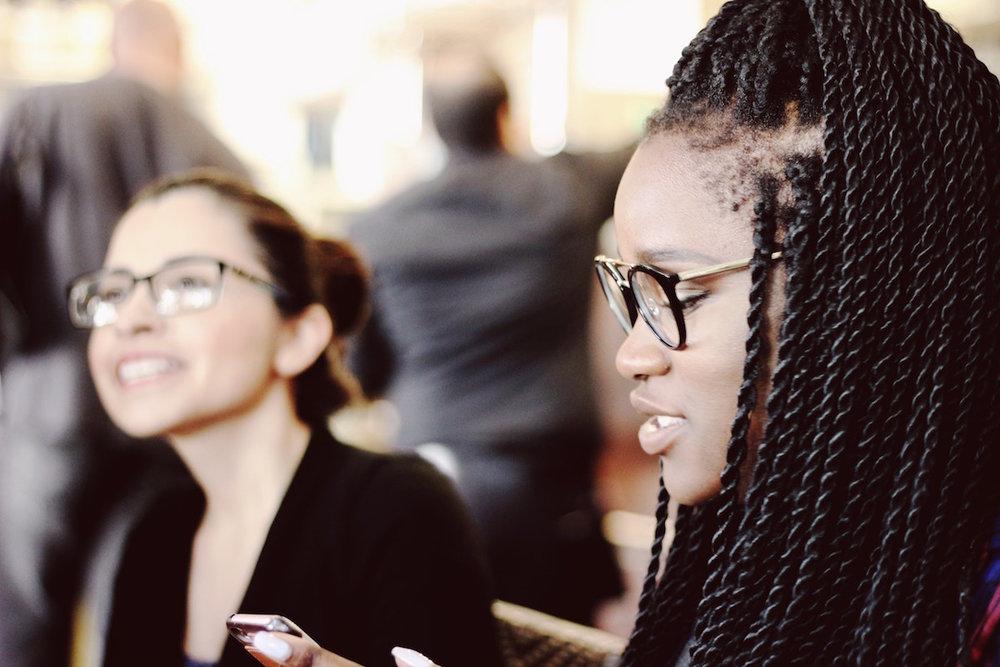 Queen-BEES-Social-Club-African-American-Woman-Caucasian-Woman-Teamwork-Female-Empowerment-Photo-by-Samantha Sophia-on-Unsplash.jpg