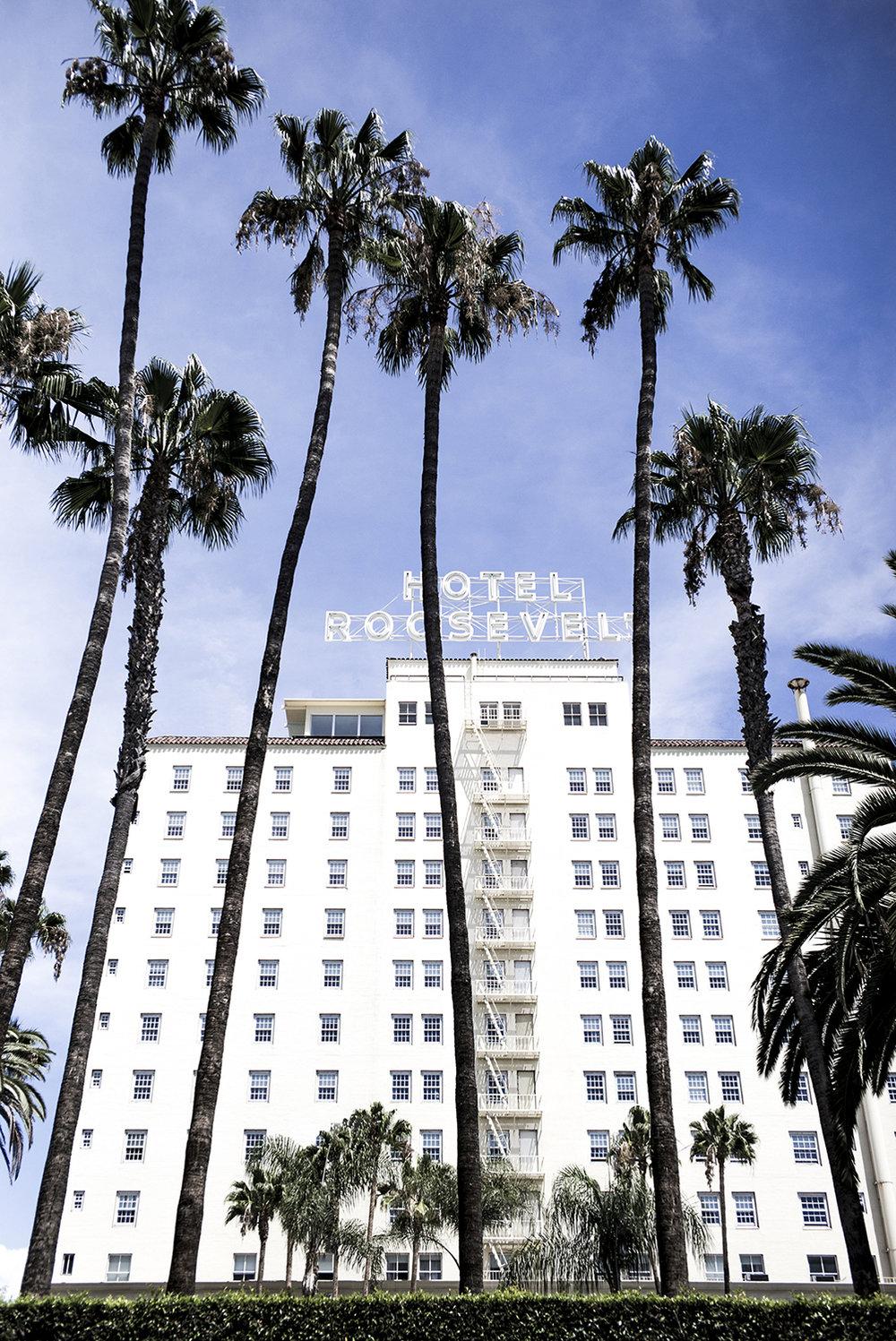 Hollywood Roosevelt Hotel  Hollywood Roosevelt Hotel  Los Angeles, CA