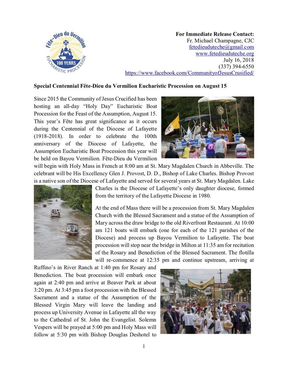 Press Release Fete Dieu du  Vermilion 2018.jpg
