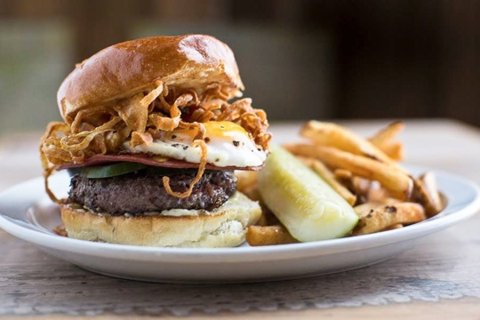 The Dynamo Burger ~ Secret Sandwich Society
