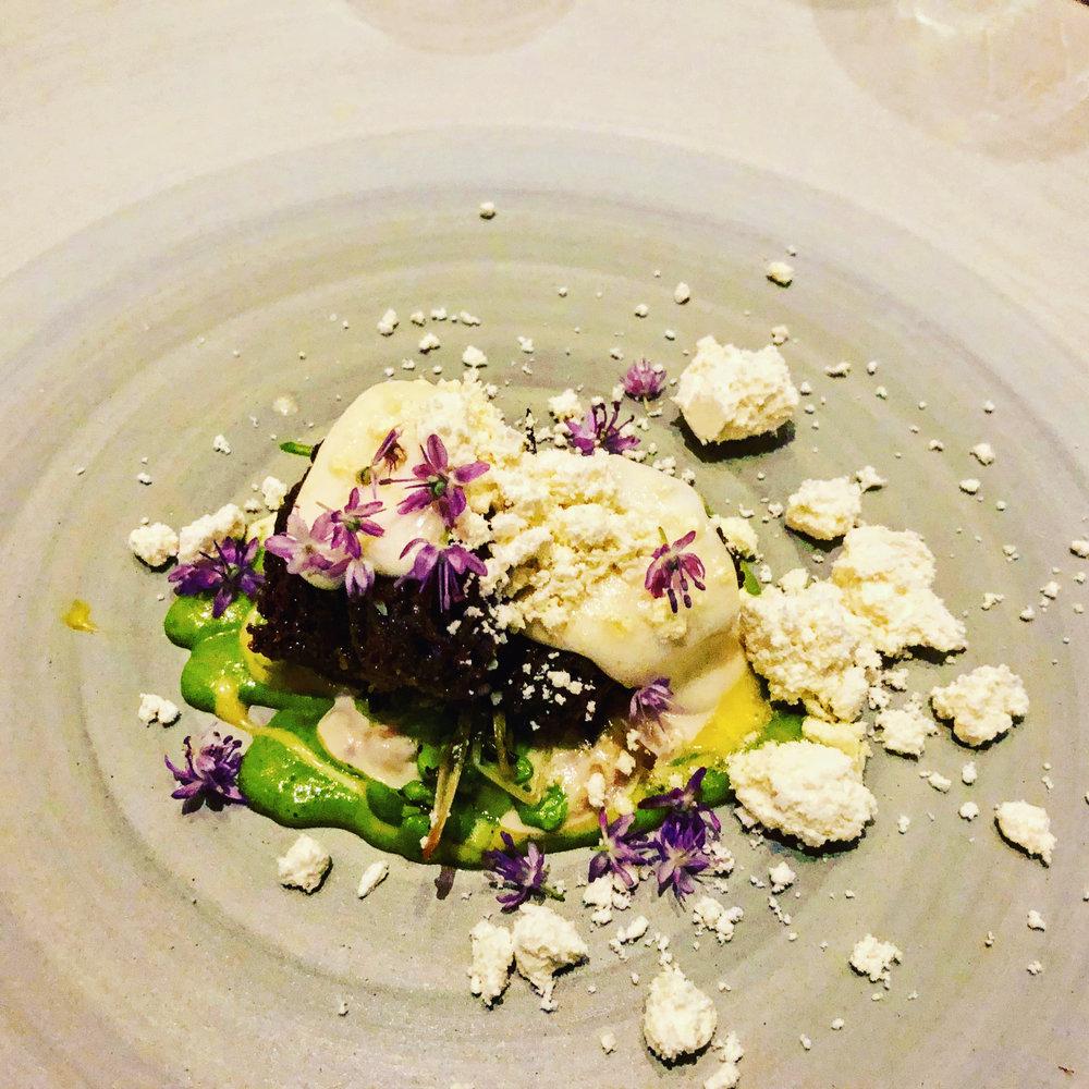 Morrells, Ramp Sauce, Parmesan @ Alinea