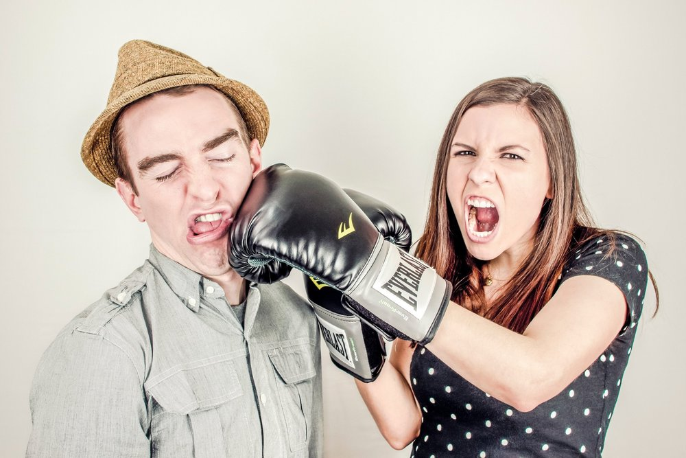 Stressful situations and emotions can run high during the holidays and you may feel like punching someone!