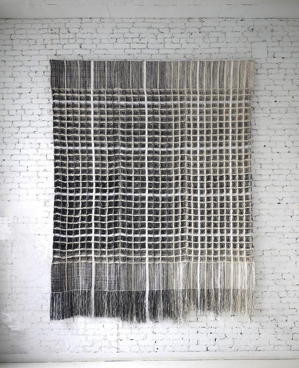 Blackboad, Hiroko Takeda, 2015, NY Studio, 144%22hx 108%22w, mixed natural fibers.jpg