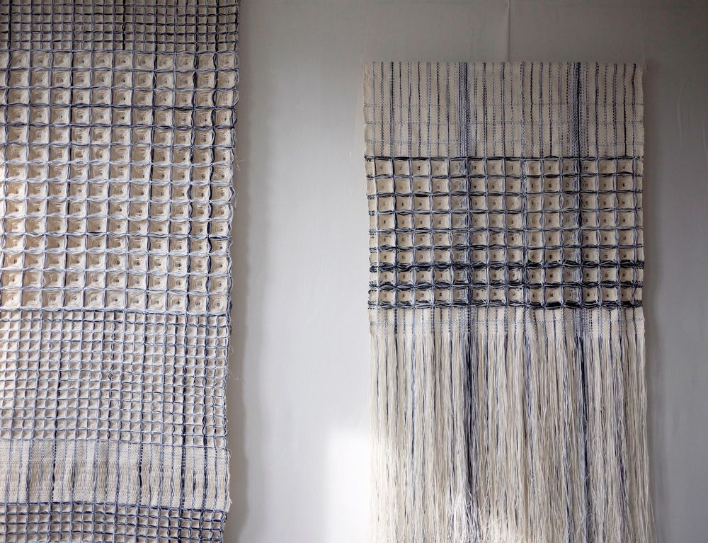 Blueprint Series, Hiroko Takeda, 2014-2015, NY Studio, various, mixed nautral fibers 3.jpg