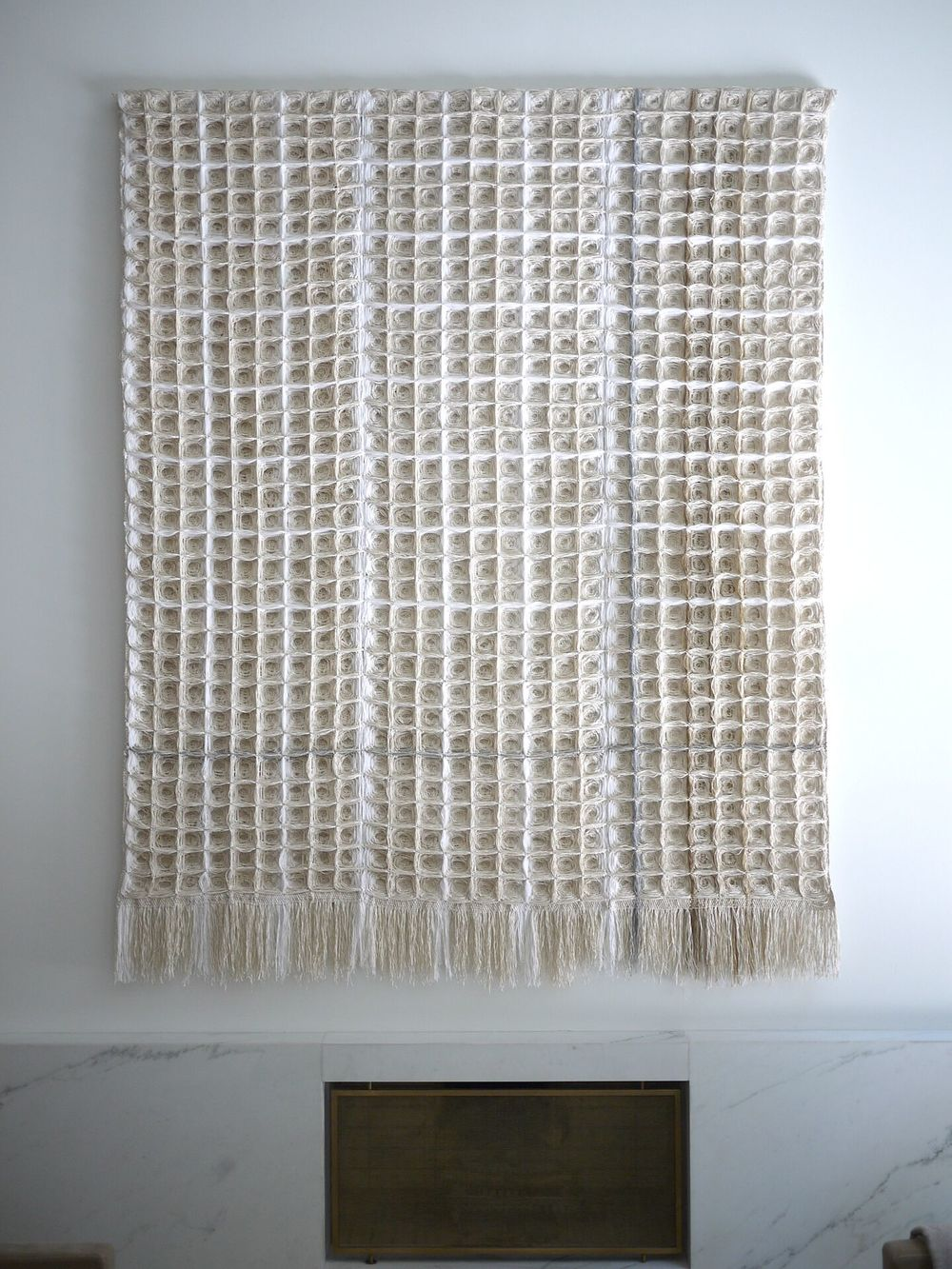 Bridge 397, Hiroko Takeda, 2015, NY Studio, 100%22hx 80%22w, mixed natural fibers.jpg