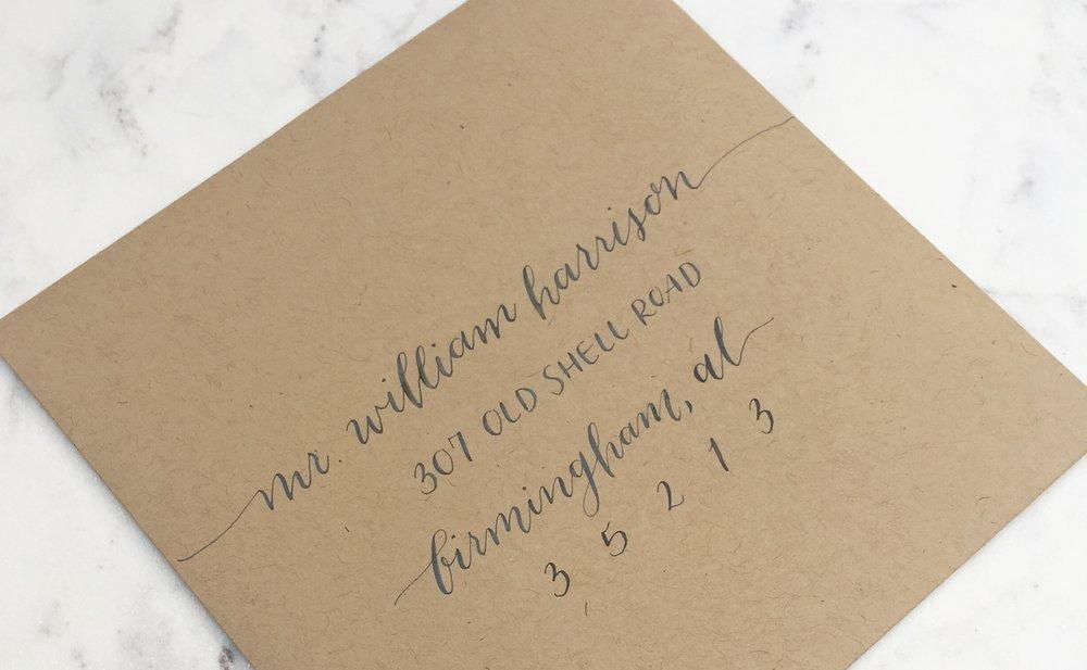 ENVELOPE ETIQUETTE Etiquette u2014 Anna Sayers Calligraphy