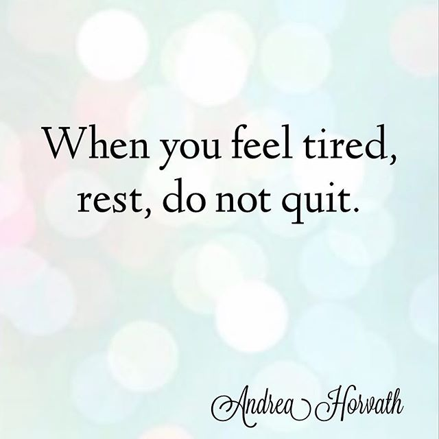 Be mindful of the times that you need to take a rest and recharge. It can sometimes feel like we want to quit. If that's how you are feeling, just take a rest and do what you need to do to recharge your batteries. Give yourself a time limit, or put some parameters around your break so you know when to come back. But don't give up! I hope you are working towards some amazing goals, and that can take time. Anything worth having, is worth putting in the work. . . #personaldevelopment #goals #success #dreams #freedom #empowerment