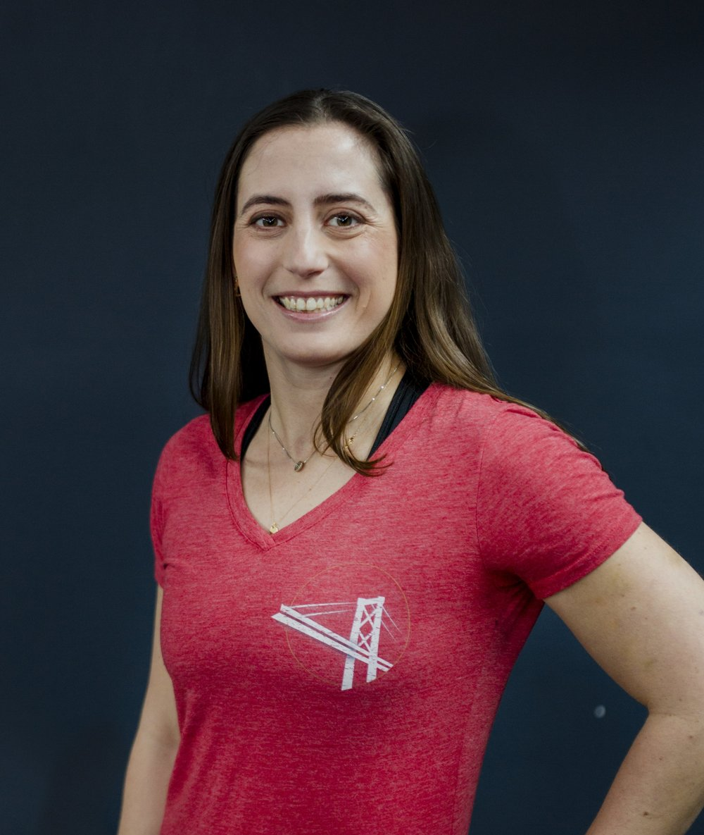 Michele Gretano, Owner & Director of Operations CrossFit Level 2; USAW Advanced Sports Performance Coach