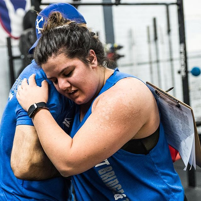 """Coaches need hugs too 🖤  Tell us your goals and we will support them. Click on the """"book"""" link in our profile to set up an appointment.   #ridgewood #bushwick #crossfit #crossfitter #crossfitgames #crossfitcommunity #crossfitlife #crossfitlifestyle #crossfitters #crossfitfamily #fitspo #fitfam #health #fitness #fitnesslife #fitlifestyle #workoutmotivation #healthylifestyle #workout #gymshark #sport #gym #muscle #mobility #training #nopainnogain #fitnessaddict #power #lift #fitnessgoals"""