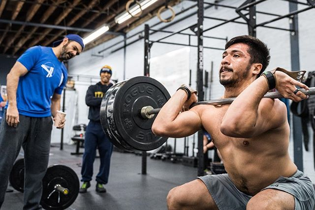 it's Monday!  Retesting Open 11.2. It's a classic sprint. Turn your brain off and do it. For extra fun, watch the demo video on the @crossfitgames site. Makes our videos look professional.     #ridgewood #bushwick #glendale #bedstuy #crossfit #crossfitter #crossfitgames #crossfitcommunity  #crossfitlifestyle #crossfitters #crossfitfamily #fitspo #fitfam #health #fitness #fit #workoutmotivation #healthylifestyle #workout #gymshark #sport #gym #muscle #mobility #training #nopainnogain #fitnessaddict #power #lift #fitnessgoals