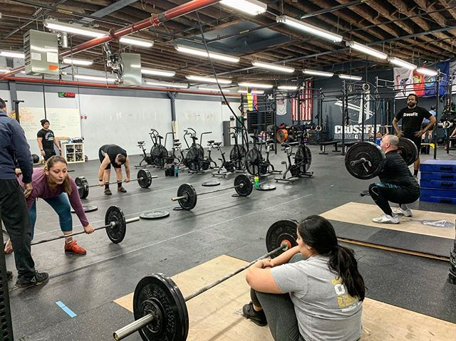 Weightlifting class ⁣ ⁣ Prepping for the Hot 'n' Heavy! ⁣ ⁣⁣⁣⁣⁣⁣ #ridgewood #bushwick #glendale #bedstuy #crossfit #crossfitter #crossfitgames #crossfitcommunity  #crossfitlifestyle #crossfitters #crossfitfamily #fitspo #fitfam #health #fitness #fit #workoutmotivation #healthylifestyle #workout #gymshark #sport #gym #muscle #mobility #training #nopainnogain #fitnessaddict #power #lift #fitnessgoals