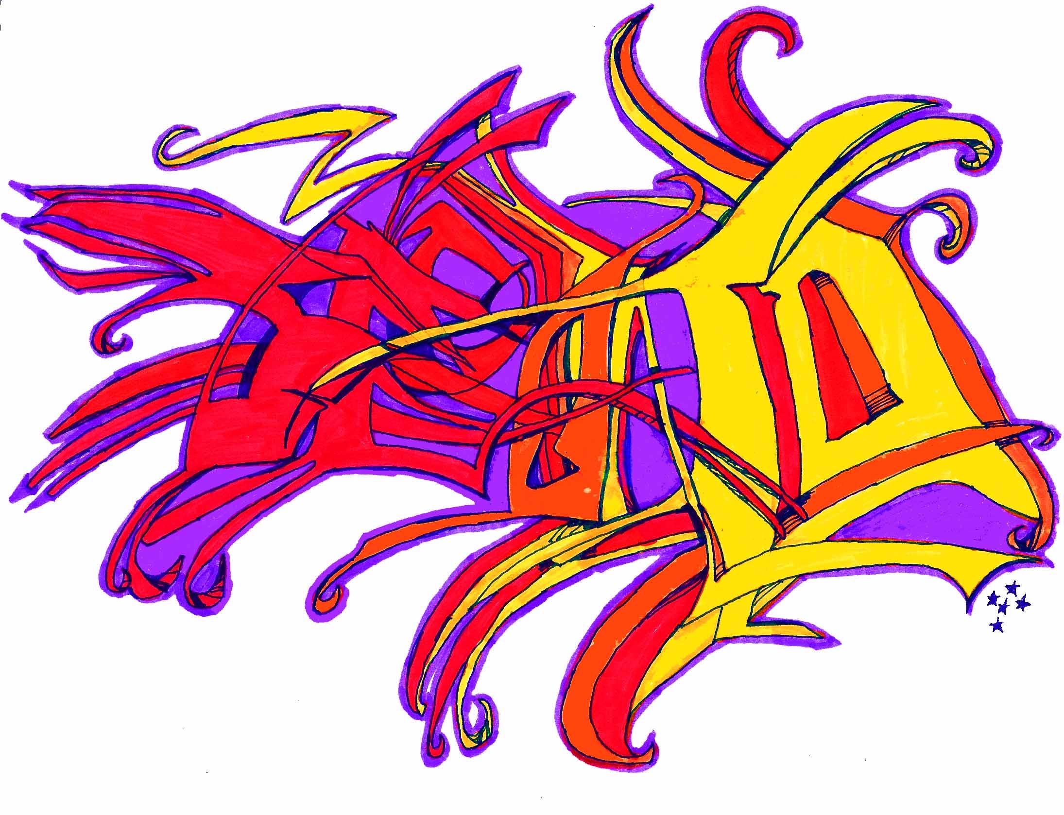 second graffiti
