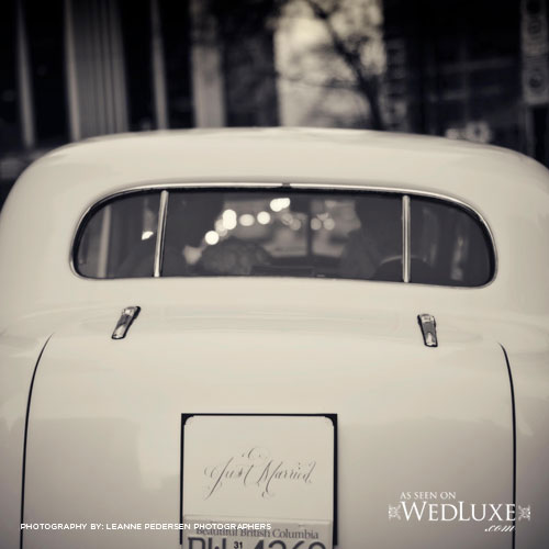 just married wedluxe
