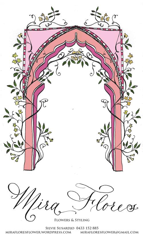 mira flores logo- arch