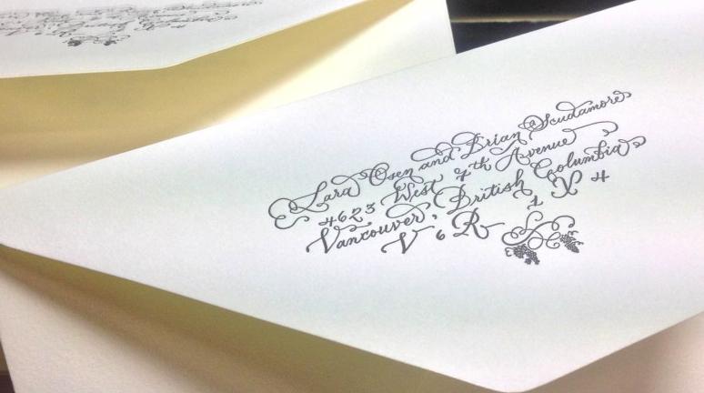 laura lavender calligraphy