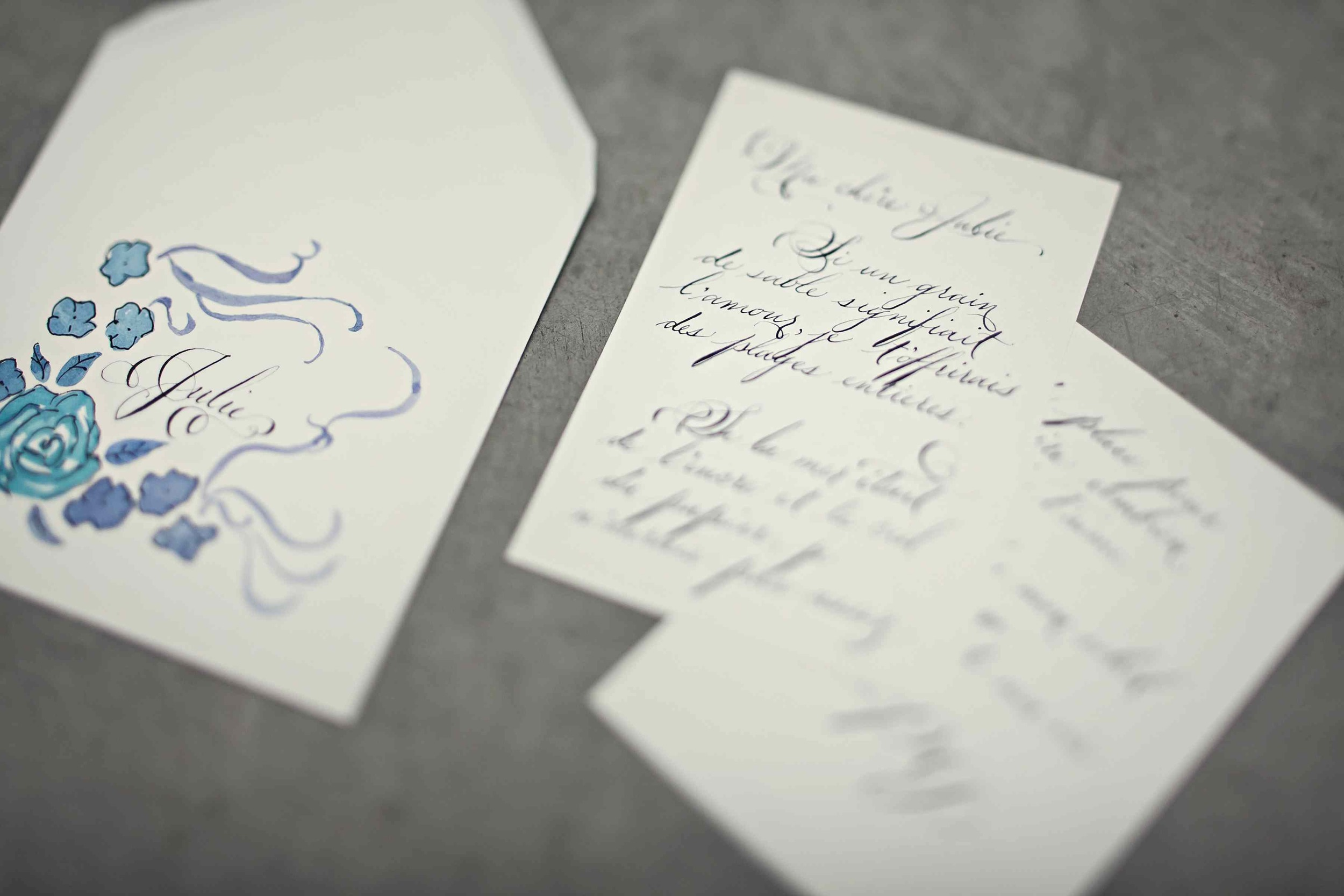 calligraphy love letter service victoria bc laura lavender calligraphy