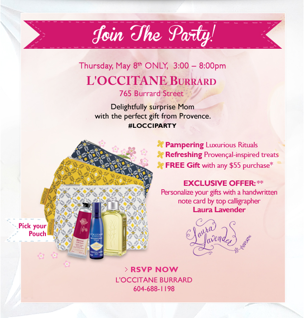 Loccitane en provence - mothers day