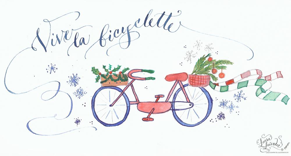 vive la bicyclette- l'hiver