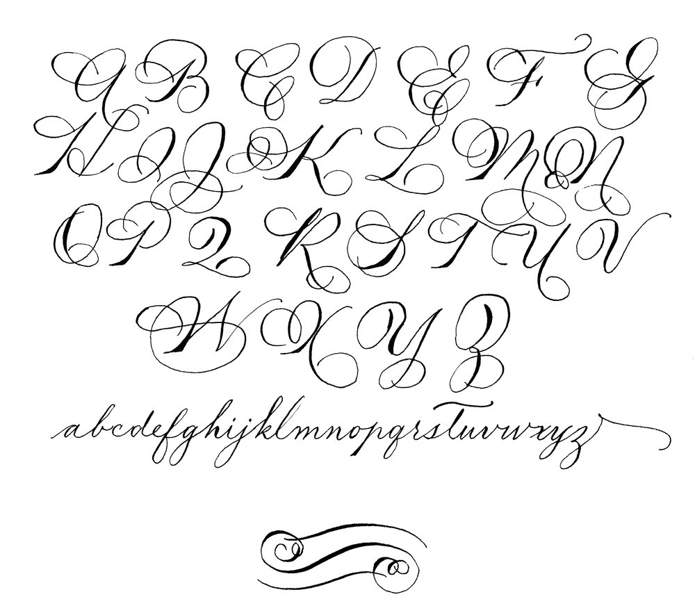 spencerian BY LAURA LAVENDER