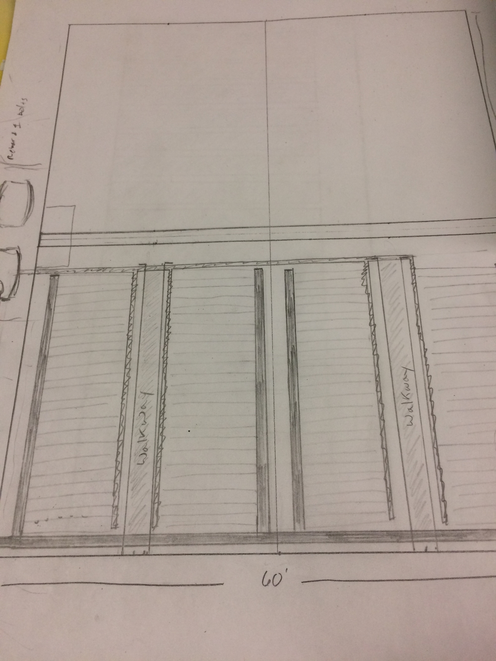 Sketch By Jason Dock. GH 1-2 6000SF approx.