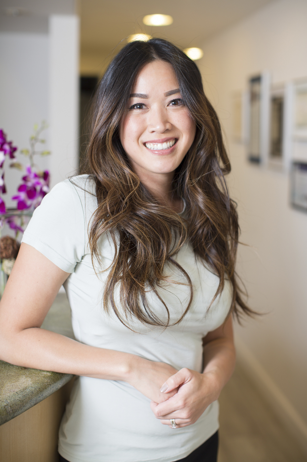 Han Nguyen, Practice Administrator, and Registered Dental Hygienist at Nice Teeth Dental in San Leandro, California.