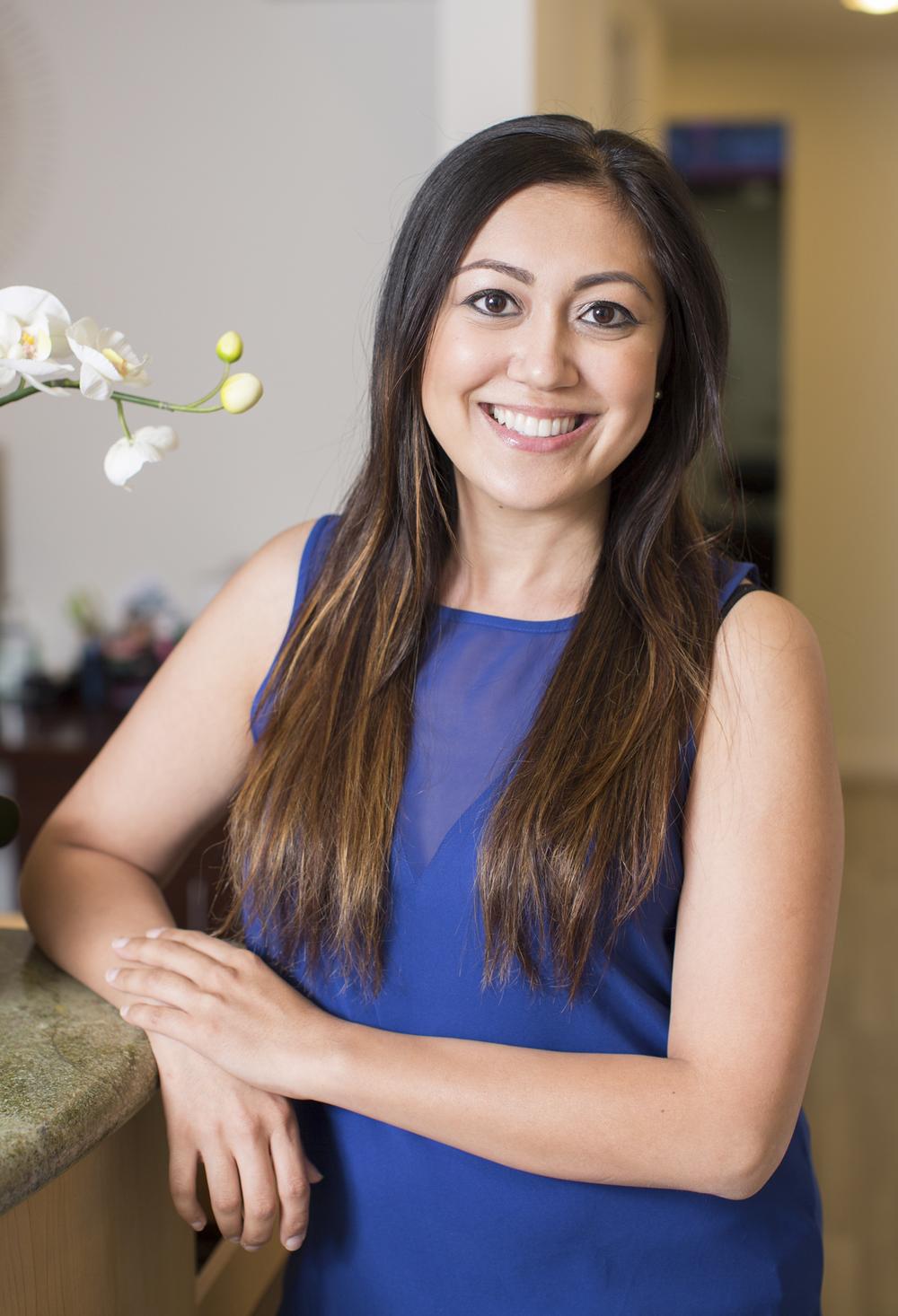 Nikki Khalili, Registered Dental Hygienist at Nice Teeth Dental in San Leandro, California.