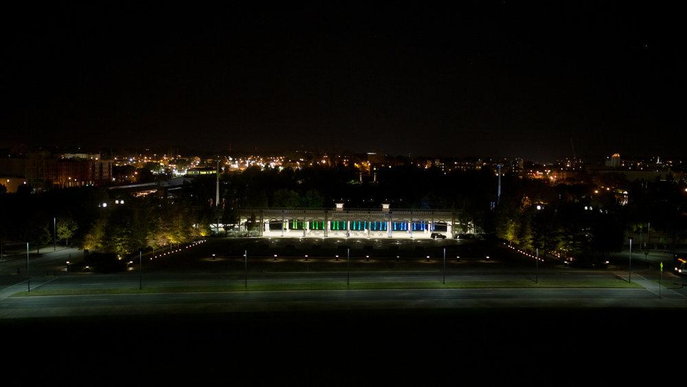 nighttime in nasheville - oct 2015