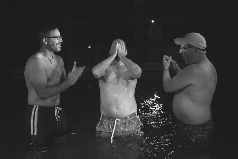 baptism, a foreign concept