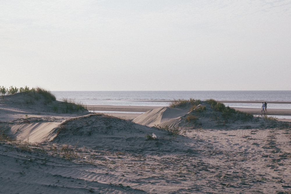 this beach has the coolest sandbar