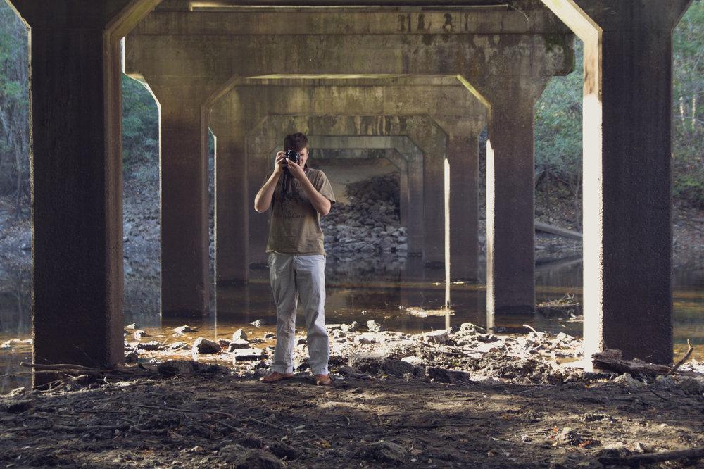 18 November 2013    Sam  lives under bridges