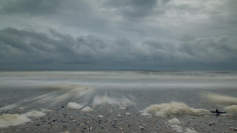 8 November 2013   Sea foam