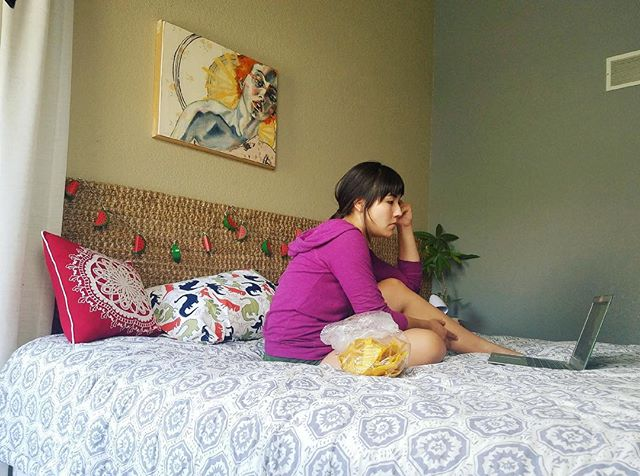 #tbt to a Summer of @deltaco and strategic throw pillows.