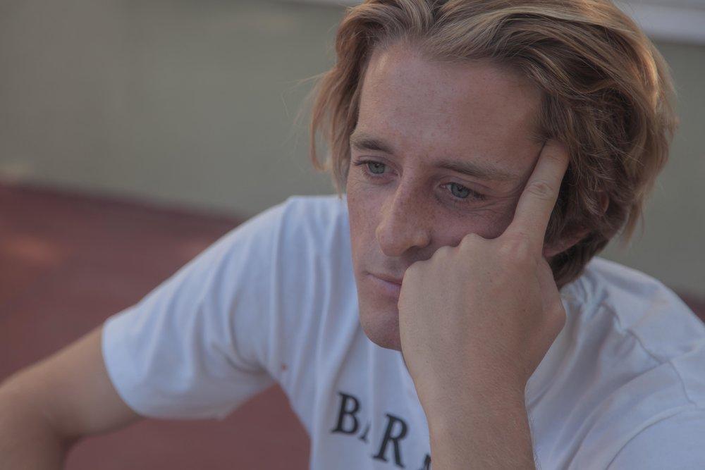 Seth Barnard Pensive Sit