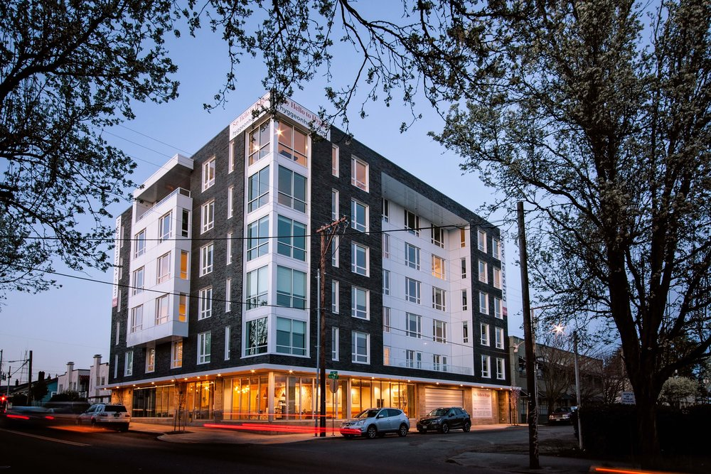 Name:  Hygge     Location:   620 NE 20th Ave    Type:  59-Unit Mixed-Use Multifamily   Complete:  2018