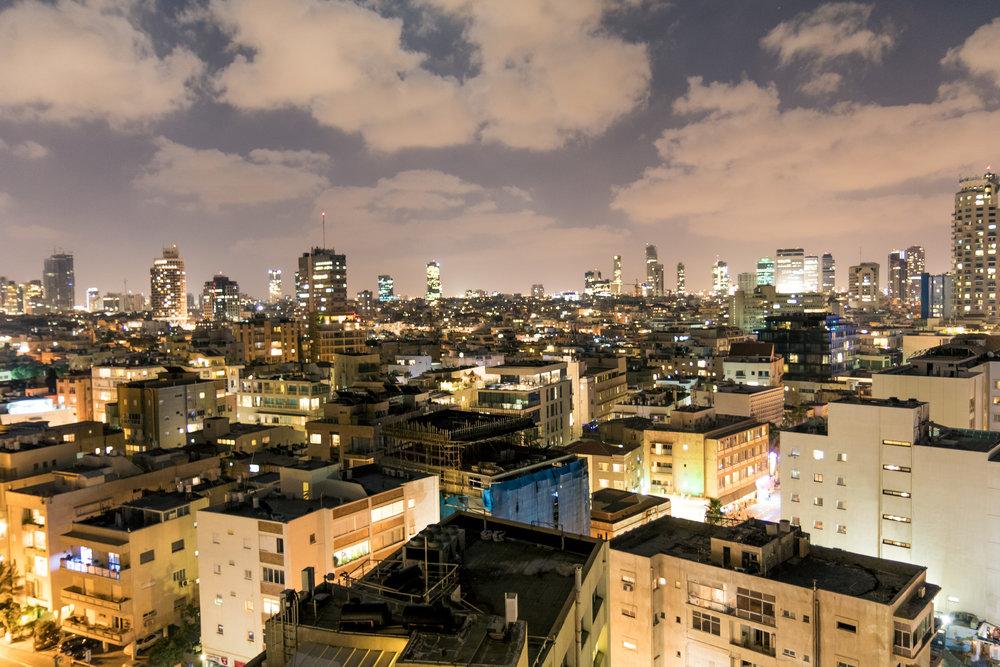 Israel At Night