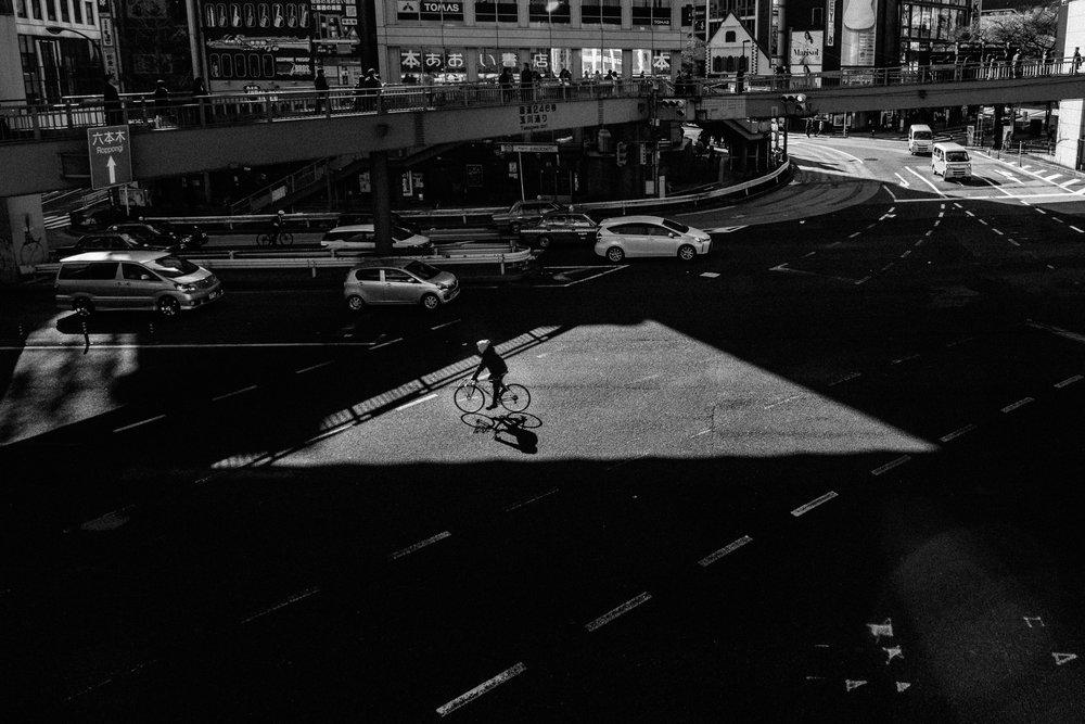 Biking Under The Shibuya 246