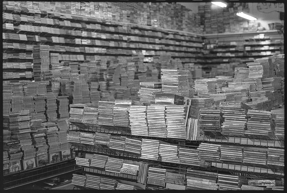 CD Shop (Ilford HP5+ 400)