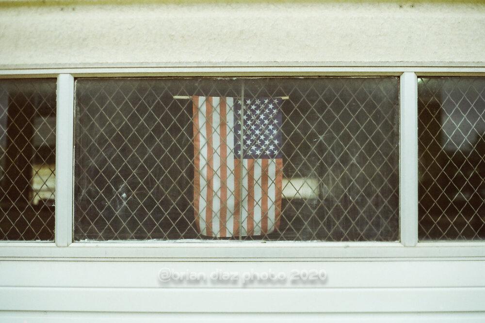 Flag (Cinestill 50D)
