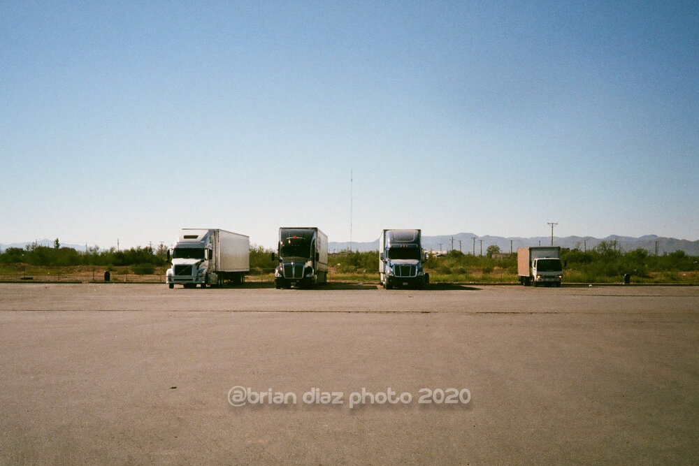 Truck Stop (Agfa Vista 100)