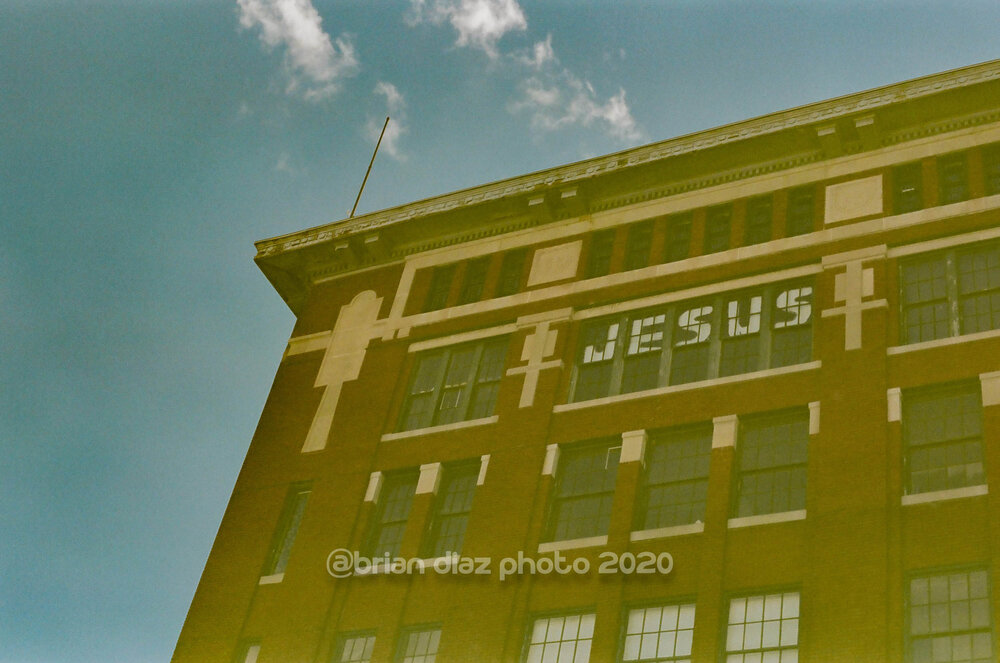 Jesus (expired Fuji HG-II 100)