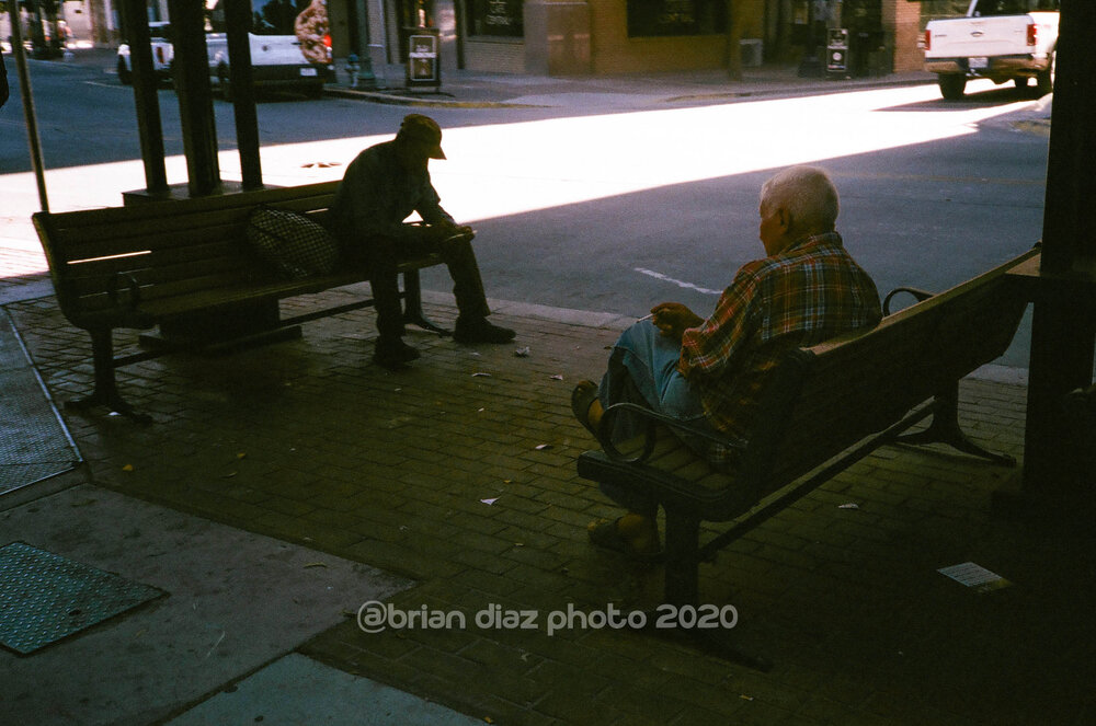 Waiting For The Bus (Agfa Vista 100)