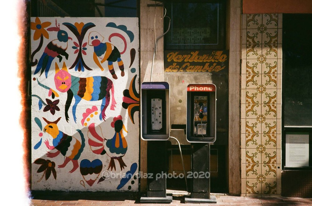 Phone Home (Kodak ColorPlus 200)
