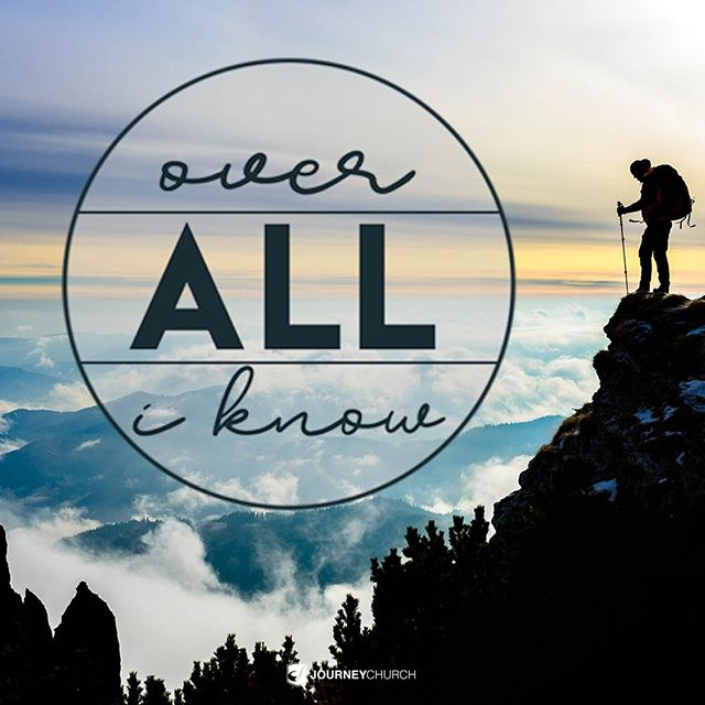 """Journey Church has recently started singing """"Over All I Know"""" by Vertical Worship. If you haven't heard it yet, search it up. . In South Africa, there is a flat-topped mountain named Table Mountian that overlooks Cape Town and the Cape of Good Hope. As long as there aren't many clouds present, the curve of the earth can be seen by looking out past the water. When looking down, the houses of Cape Town spread out on the landscape. . I was able to explore the top of Table Mountain. I remember seeing everything and being hit by the realization that each house contained a family with their own stories. The infinite amount of individual stories blew my mind. I was looking at the homes of people I would never meet, but each person was individually loved by the God Who created them. . To know that my life takes up just a minuscule fraction of this planet, yet God knows every inch of my soul and is closer to me than the air I breathe, is overwhelmingly humbling. It's comforting and confusing and mind-boggling and incomprehensible to me, but there's also a sense of peace and security knowing I'm known so intimately by a God Who rules over all I know."""