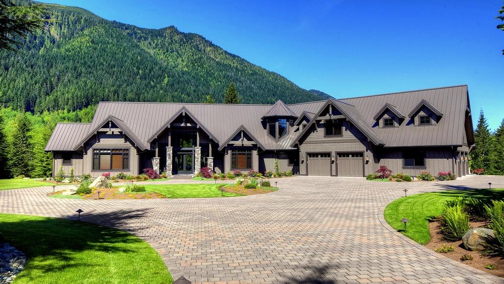North Bend Lodge   an elegant mountain retreat
